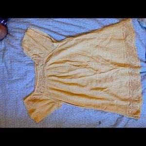 Linen Babydoll dress from Urban Outfitters size S